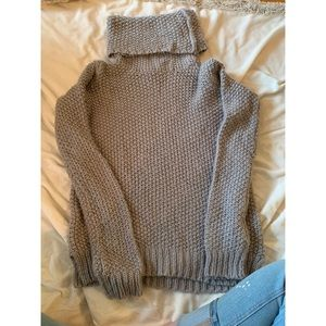 Forever21 roll down turtle neck sweater
